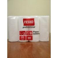 Полотенца рулонные 2-х слойные Professional Fesko Рута